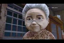 video / Grandma lives alone with the Robot who takes care of her!