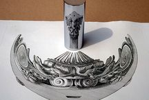 Stunning Anamorphic Artworks That Can Only Be Seen With A Mirror Cylinder. / Stunning Anamorphic Artworks That Can Only Be Seen With A Mirror Cylinder. By: © István Orosz  -----------------------------------------------------------------------------  SULEMAN.RECORD.ARTGALLERY: https://www.facebook.com/media/set/?set=a.437794596430565.1073742305.286950091515017&type=3  Technology Integration In Education: