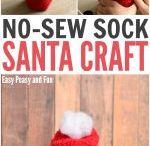 Sock Santa (w/rice)