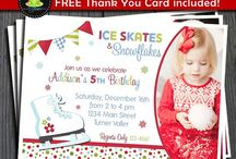Ice Skating Party | THEME / by Forever Your Prints