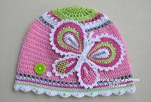 Crochet - Beanies, hats & headgear