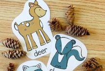 Preschool - Forest animals