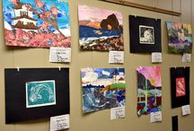 Featured Artwork / Each month, student artwork is featured at the Administrative Center.