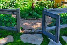 garden fence ideas / by Mary Else