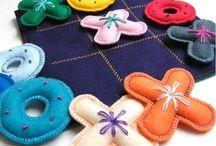 brinquedos feltros