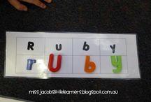 Kindy ideas :)