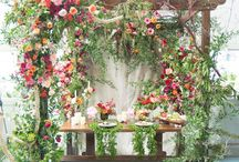 Chuppah with flowers