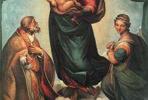 Raphael / (Raffaello Sanzio/ Santi) (1483, Urbino, 1520, Roma)