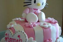 Melanie's First Birthday / Hello Kitty Birthday / by Gaby