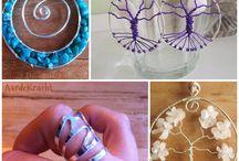 Wire sieraden NL - wire jewelry NL / Wire sieraden gemaakt in Nederland. Wire jewelry made in Holland. Ook pinnen op dit bord? Mail naar info [at] laurelinde punt com