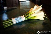 Classic white bouquets