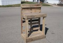 Recycled Pallet Projects / by Robin Miller Cresci