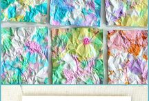 art projects for the kiddos / by Alicia {The Baker Upstairs}