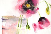 Anemone i vase