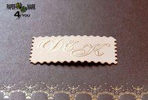 Custom Monograms ♥ Invitations ♥ Ideas