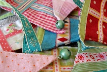 Bunting / Bundles of bunting to hang up / by Ingrid Duffy