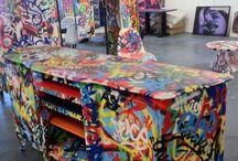 Móveis c grafite