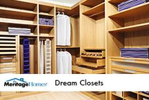 Dream Closets / by Meritage Homes