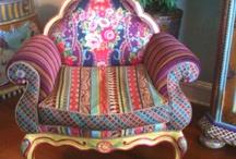 Artsy chair ideas / by Michael Schmidt