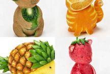 decorsção com frutas