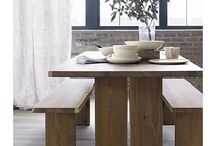 Dining tables / by Shirley