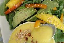 ensalada con mango