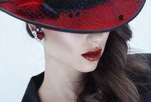 "Fashion""Autumn❄️Winter-Black&Red"""