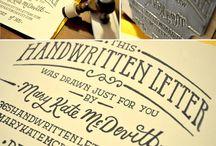 I dream of typography