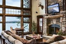 Lodge style house ideas