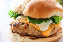 Burgers / Beef, chicken, turkey it don't matter just burgers