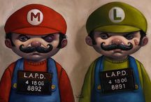 Cool Gamer Art / Cool Gamer and gaming art