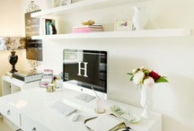 Home. Work. / Functional meets fabulous - home office inspiration. / by Kendra Visioli