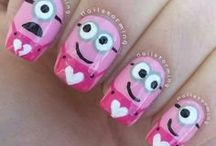 Minions Nails =D / Be creative with the minions characters.  They'll definitely get you millions of eyeballs!
