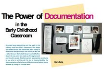 Documentation: Making Learning and Thinking Visible / by TNReggioStudyGroup Tennessee