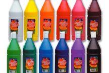 Témperas de Colores.
