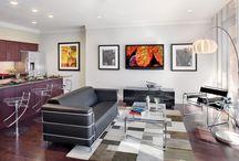 Barton Place Models / Condo Interior Design by Paula Ables Interiors