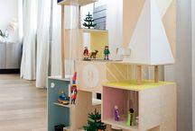 Maison de poupées / Doll house / Pour jouer avec les enfants !