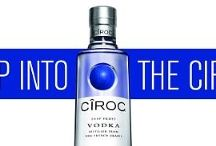 Ciroc Sean Combs White Tulle Skirts