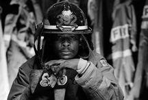 FireFighter Portrait Ideas