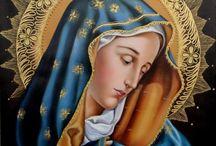 Virgen maría pinturas