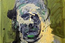 Heads oil on canvas 70/80 cm