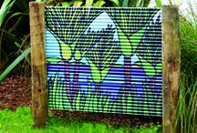 Outdoor art display