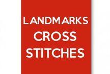 Landscapes Cross Stitches