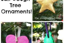 Rockin' Around the Christmas Tree / Handmade decorations for preschool level / by Annie Fitzgerald