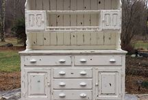 Painted Hutches~Juniper Hill Antiques