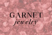 Garnet Jewelry / The rich color of Garnet is a beautiful touch to your Winter wardrobe. Also known as January's birthstone. These are some of the most popular and current Garnet pieces Ice.com has to offer. / by Ice.com