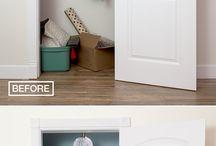 Hall closet / by Charlene Swearingen