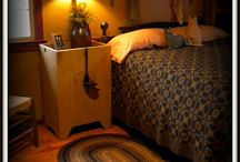 Bedrooms / by Vicky Zarbaugh-Dean