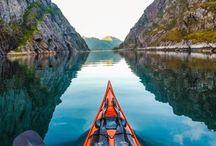 Nature rivière canoé