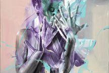 PIER TOFFOLETTI painter /  BODY SPLASH